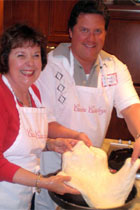 Banner Elk Winery & Villa Cooking Couple