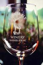 Banner Elk Winery & Villa - Logo Wine Glass