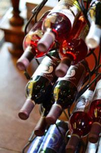 Banner Elk Winery & Villa Wine Rack