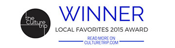 The Culture Trip - Local favorites 2015 award winner