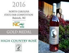2016 North Carolina State Fair Wine Competition