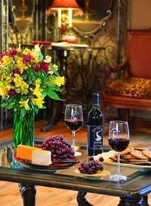 Banner Elk Winery, Cheese and Fruit Tray