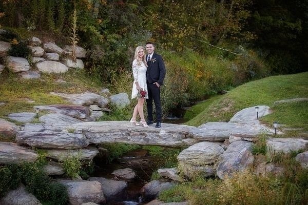 Wedding in the gorgeous landscape of Banner Elk Winery & Villa