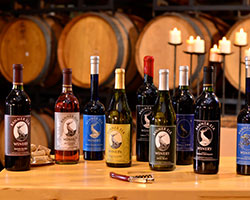 Banner Elk Winery Bottles