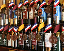 Banner Elk Winery Bottles Medal