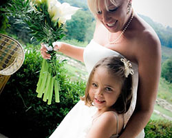 Banner Elk Bride & Flower Girl