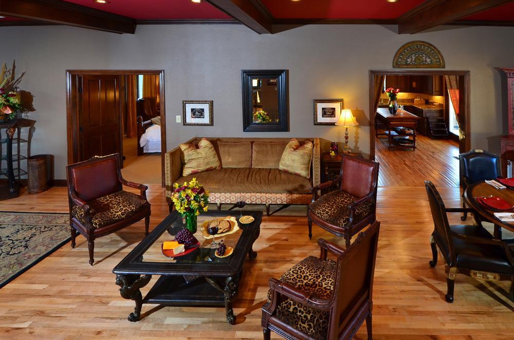 Banner Elk Winery & Villa Interior