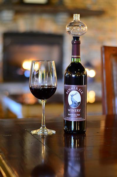 Banner Elk Winery Bottle
