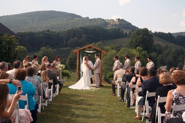 Nc winery wedding