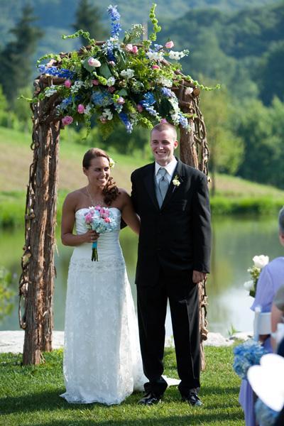 Banner Elk Wedding Ceremony