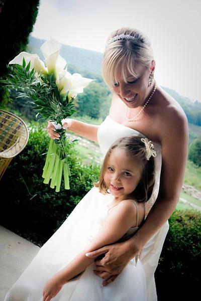 Banner Elk Bride & Flower Girl