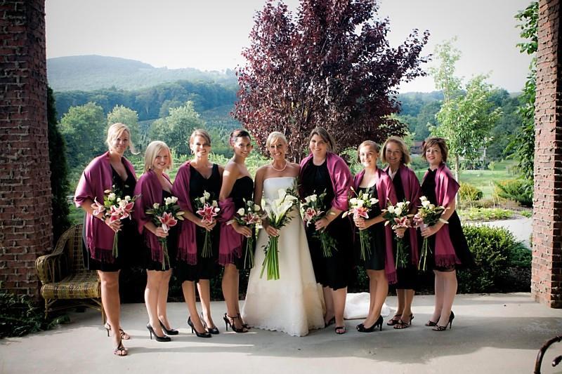 Banner Elk Bride and Bridesmaids