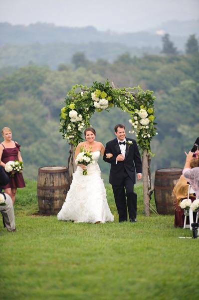 Banner Elk Gjertsen Wedding Ceremony